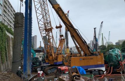虎ノ門、麻布台地区第一種市街地再開発事業に係る建物除却等工事