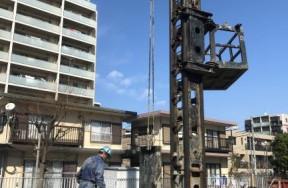扇橋閘門管理棟耐震・耐水対策工事