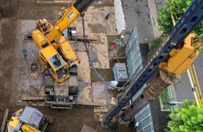 上野稲荷町プロジェクト新築工事
