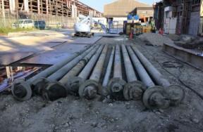 AP構造改善シート系列建屋撤去工事