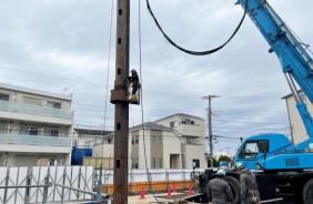 東熱市川研修センター新築工事に伴う撤去工事