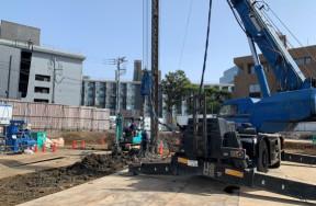 神宮前6丁目計画に伴う解体撤去工事
